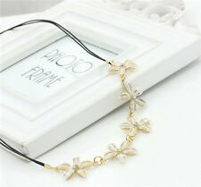 Fashion Women Jewelry Gardenia Chain Flowers Clavicle Necklace N181-182