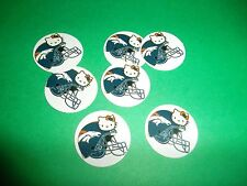 Pre Cut One Inch HELLO KITTY BRONCHOS Bottle Cap Images! FREE SHIP