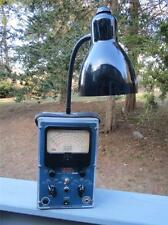 NOVELTY DESK or TABLE LAMP ~ GENUINE EICO VOLTMETER, OHMMETER MODEL #221 ~ 22""
