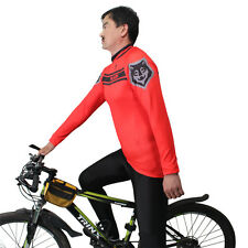 Men Long sleeve Biking Apparel Paladinsport Cycling Clothing Jersey Red