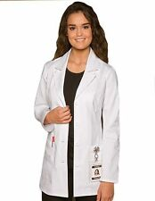 Dickies Missy Fit 29 inch Multipocket Short Medical Lab Coat DI-84406