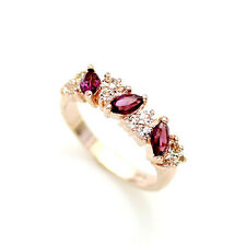 Fashion Jewelry - 18K Rose Gold Plated Band Ring (FR180)