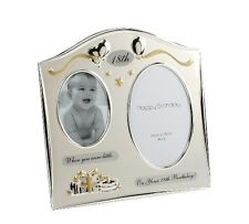 Then & Now Double Birthday Frame for 18th 21st 30th 40th 50th NEW