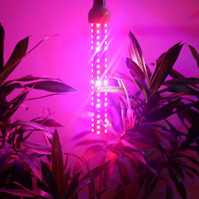 80W Full Spectrum LED Plant Grow Light Hydroponic Greenhouse Lighting Lamps 360°
