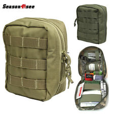 1PC 1000D Molle Outdoor Tactical Military First Aid Kit Survival Pouch Dump Bag