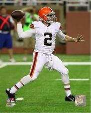 Johnny Manziel Cleveland Browns 2014 NFL Action Photo (Select Size)