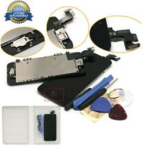iPhone 5 5C 5S LCD Screen Digitizer Assembly Replacement+Home Button+Camera New