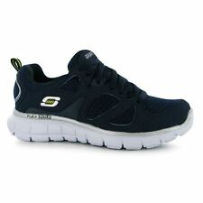 Skechers Kids Vim Lace Boys Trainers Shoes Runners Sports Training Lightweight