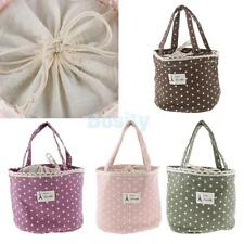Thermal Insulated Lunch Box Cooler Bag Tote Bento Pouch Snack Lunch Container