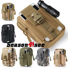Outdoor Tactical Molle Waist Pack Utility Phone Pouch Bag Waterproof Sports Bag