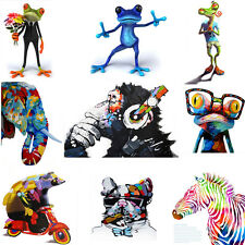 1x Unframed HD Canvas Print Home Decor Wall Art Painting Picture-Funny ANIMALS