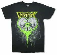 Bullet For My Valentine Skull Splatter Black T Shirt New Official Adult