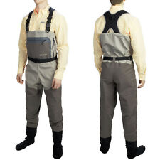 Mens Allen North Fork Breathable Waterproof Stockingfoot Chest Wader Fly Fishing