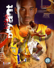 Kobe Bryant LA Lakers NBA Licensed Fine Art Prints (Select Photo & Size)