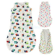 Cotton Soft Baby Infant Swaddle Wrap Blanket Sleeping Bag Grobag For 0-3Years
