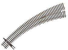 Walthers 948-8827 HO Code 83 Nickel Silver DCC Curved Turnout #6-1/2 Right Hand