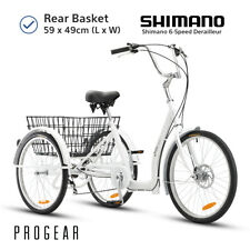 NEW Progear Adult Tricycle Trike 6-speed 20