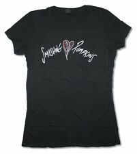 Smashing Pumpkins Heart Girls Juniors Black T Shirt New Official