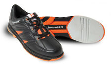 Bowling Shoes Men's Brunswick ick Warrior black/orange for Right and Left-handed