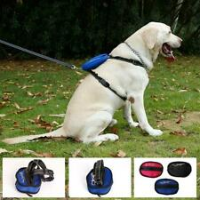 Small Medium Large Dog Pet Adjustable Harness Reflecting Collar Leash Lead S--XL