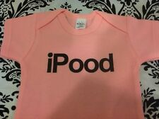 iPOOD - FUNNY - BABY BODYSUIT - SIZE AND COLOR CHOICE - BOY OR GIRL - CHOICE NEW