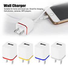 Universal USB 1Port 2Port 4Port Wall Home Travel AC Charger Adapter US/EU Plug