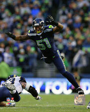 Bruce Irvin Seattle Seahawks 2014 NFL Action Photo RQ044 (Select Size)