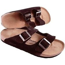 Newalk Licensed by Birkenstock Women's Arizona Mocha 2-Strap Sandal 38 EU/ US 7