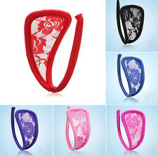 4 Colors Sexy Women C-String Thong Invisible Underwear Panties Lingerie G-string