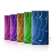 STUFF4 Back Case/Cover/Skin for Sharp Aquos Crystal/306SH/Spider Web Pearls