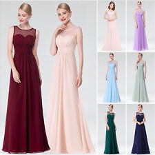 Ever Pretty Women's Long Evening Bridesmaid Party Formal Prom Dresses 08761