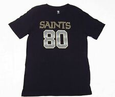 NFL New Orleans Saints Jimmy Graham Number 80 Black Youth T-Shirt 100% Cotton