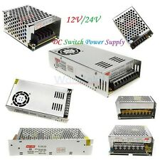 AC/DC 1/2A/3A/5A/8.5A/10A/20A/30A/33A Switching Power Supply 12V/24V F/LED Strip