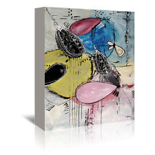 Americanflat Motus 109 by Annie Rodrigue Painting Print on Wrapped Canvas