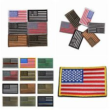 United States American Embroidered Country Flag Patch Military Uniform Emblem M5