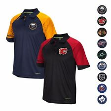 2015-16 NHL REEBOK PLAYDRY PERFORMANCE CENTER ICE COACHES POLO SHIRT MEN'S