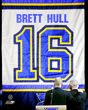 Brett Hull St. Louis Blues NHL Licensed Fine Art Prints (Select Photo & Size)