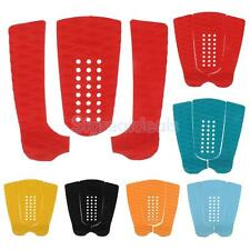 3 pieces Diamond Longboard Surfboard Tail Pad / Deck Grip - 7 colours to choose