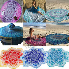 Hippie Round Mandala Tapestry Wall Hanging Beach Cover Up Throw Towel Yoga Mat
