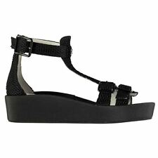 Jeffrey Campbell Womens Europa Sandals Summer Casual Platform Textile Shoes