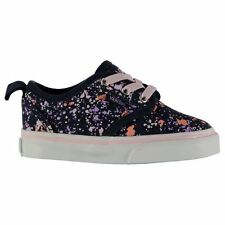 Vans Kids Atwood Slip On Infant Textile Canvas Shoes Casual All Over Pattern