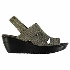Bernie Mev Womens Level Wedge Sandals Open Toe Shoes Summer Casual Platforms