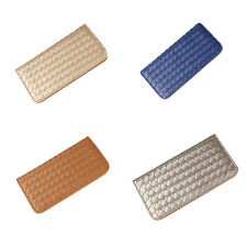 Women PU Leather Wallet Coin Purse Clutch Lady Card Holder Weave Bag NEW X1 LU