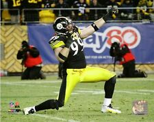 Brett Keisel Pittsburgh Steelers NFL Action Photo SI219 (Select Size)