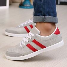 New Men Breathable Casual Leisure Mens Sports Canvas Loafers Sneakers Shoes