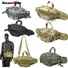 600D Tactical Molle Shoulder Bag Handbag Waist Pouch Hunting Camping Hiking