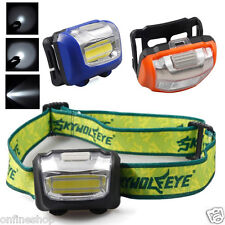 3W Mini Headlight 300Lumens LED Headlamp Flashlight Lamp Head Torch Camping