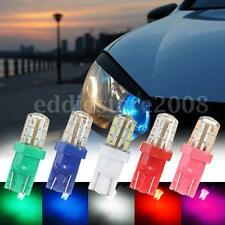 10x T10 W5W 168 194 24-SMD 2825 LED Bulbs For Car License Plate Lights DC 12V