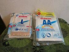EUREKA VACUUM CLEANER BAGS. CHOOSE STYLE, GREAT PRICES