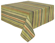 Traders and Company Bromley 100% Cotton Striped Tablecloth